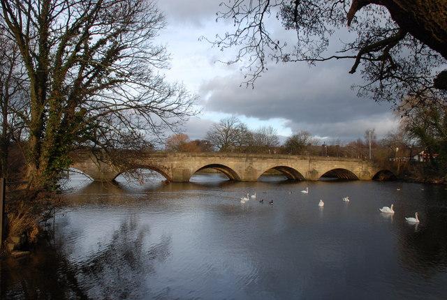 River Bridge at Otley