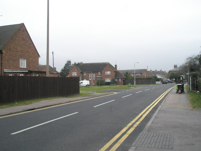 Junction of St Peter's Road and St Peter's Close