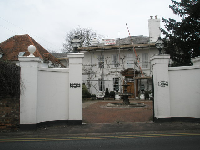 Scaffolding on Datchet House