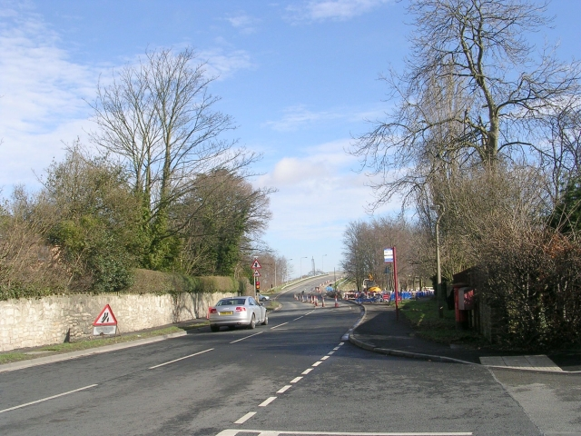 York Road - viewed from Audby Lane