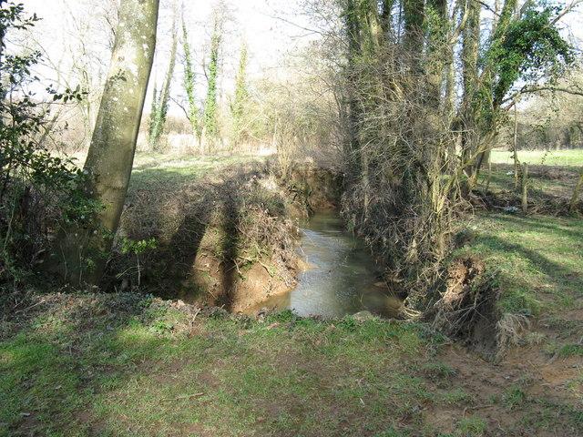 Stream near Gatehouse Wood