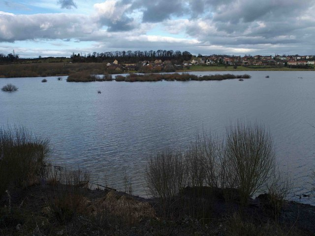 The view from the Village Bay bird hide, RSPB Fairburn Ings