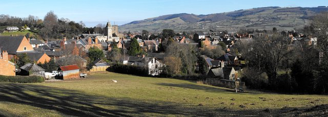 Welshpool panorama