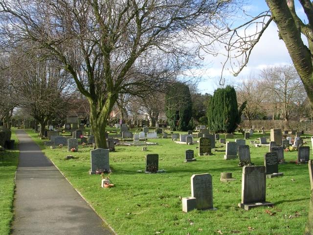 Cemetery - Hallfield Lane