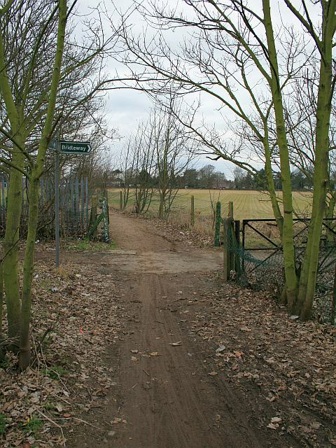 Priest Hill: bridleway junction