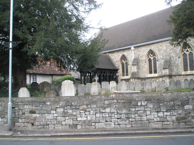 The church porch at St Mary the Virgin, Datchet