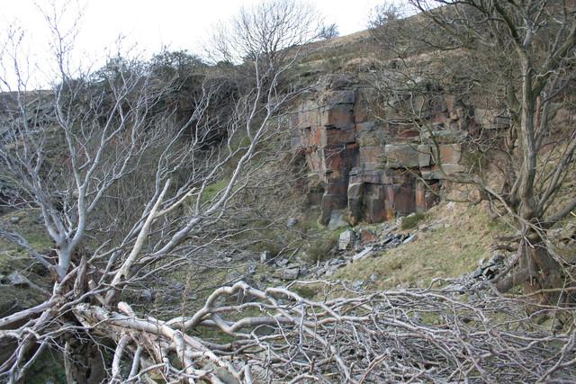Disused quarry, Newsholme Dean