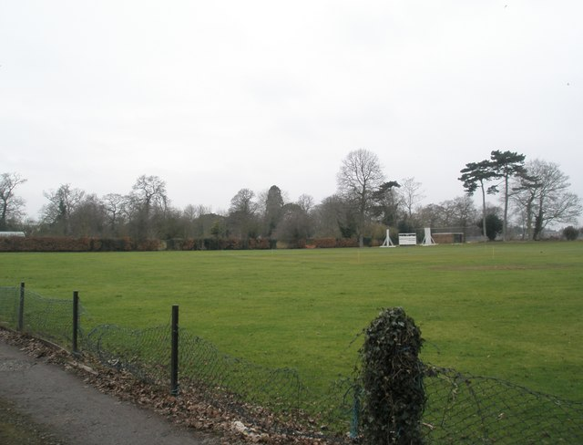 Cricket field at Datchet