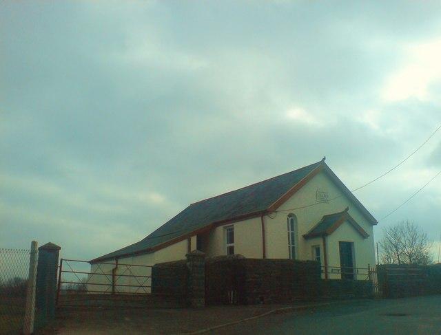 Libanus Chapel, Cwmgwili, built 1880, rebuilt 1912