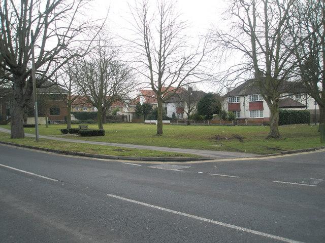 Seat in Horton Road