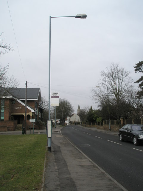 Bus stop in Horton Road