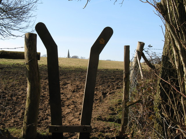 Stile with a spire