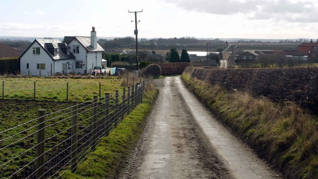 Road between Heddon Birks and Holmside