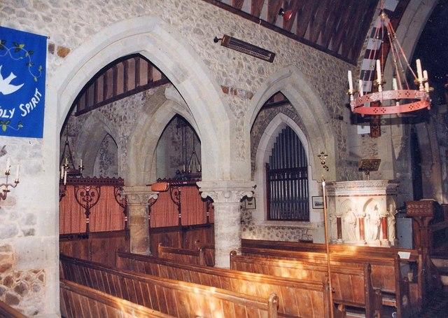 St Mary, Brook - Arcade