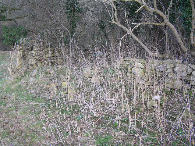 Remains of Small Methodist Chapel at Tucking Mill