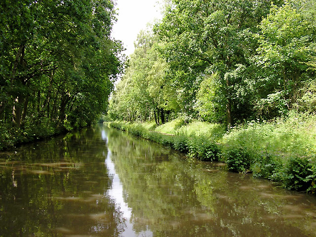 Trent and Mersey Canal near Fradley, Staffordshire