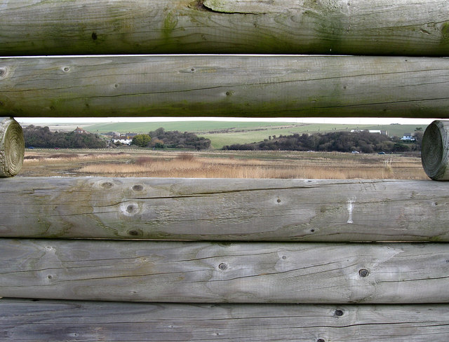 View from the Bird Watching Screen, Ouse Estuary Nature Reserve