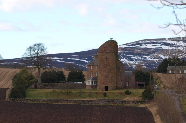 Balfour Castle near Kingoldrum