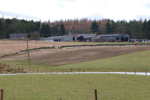 View of Torrax Farm, Lintrathen