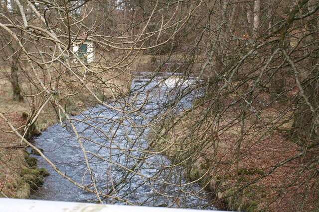 View of Inzion Burn upstream