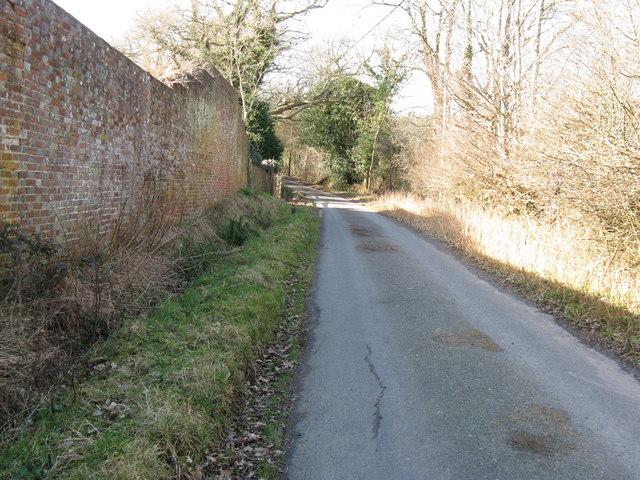 Road to Lower Vert Wood