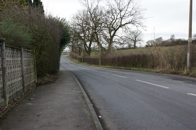 Garswood Road at Pewfall