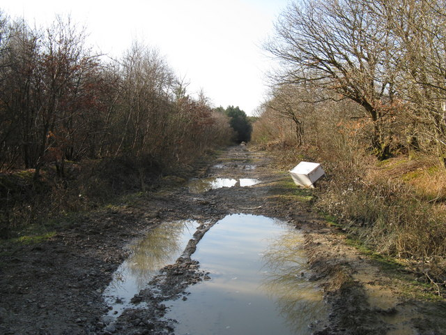 Fly tipping on restricted byway