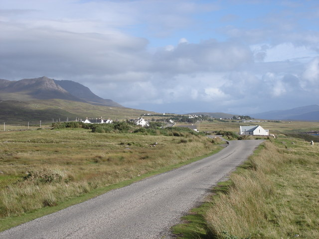 Achiltibuie from the NW