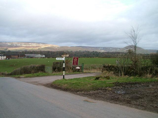 Signpost near Brampton