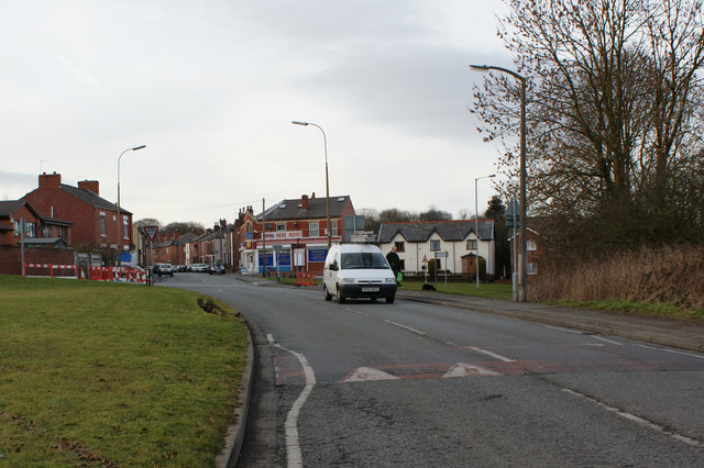 Road Junction near Spindle Hillock