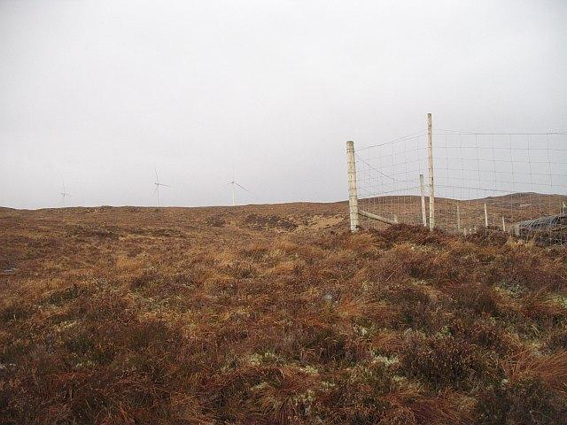 Fence corner, Coire nan Gearran