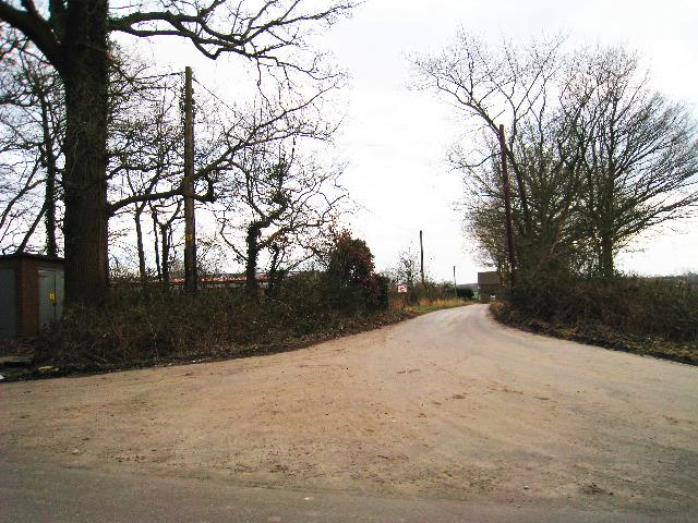 Entrance to Stone House Farm