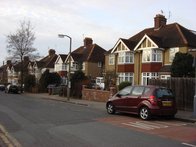 Typical 1930s suburban houses