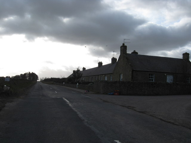 A row of cottages at Saughland