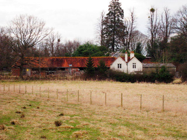 Farm Buildings and Cottages at Iridge Place