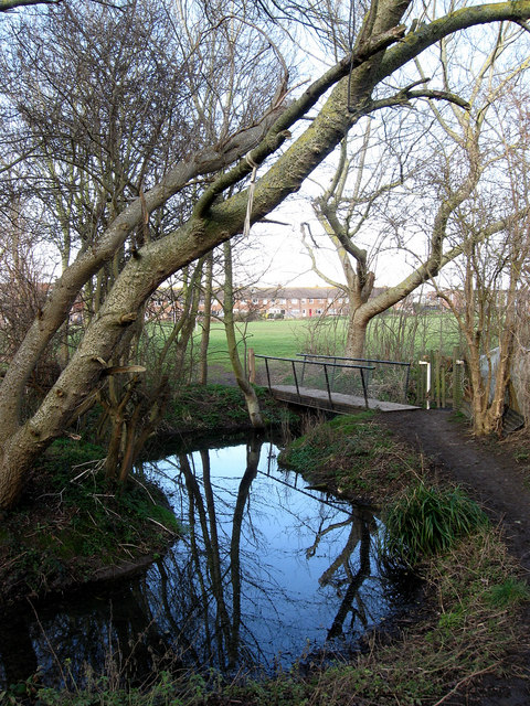 Footbridge, Eastbridge Road Recreation Ground