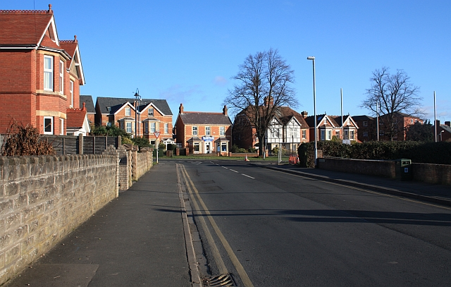 Northern end of Geraldine Road