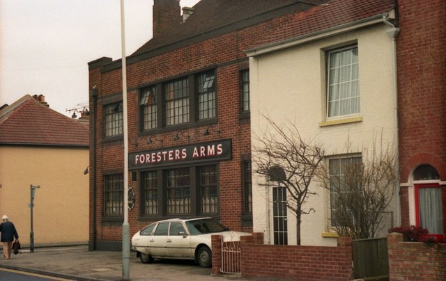 Pubs of Gosport - The Foresters Arms (1987)