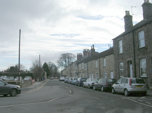 Walton Road - viewed from Horsefair