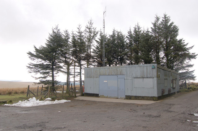 MoD Hut at Holming Beam Car Park