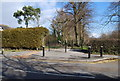 TQ5939 : Dunorlan Park entrance, Bayhall Rd by N Chadwick