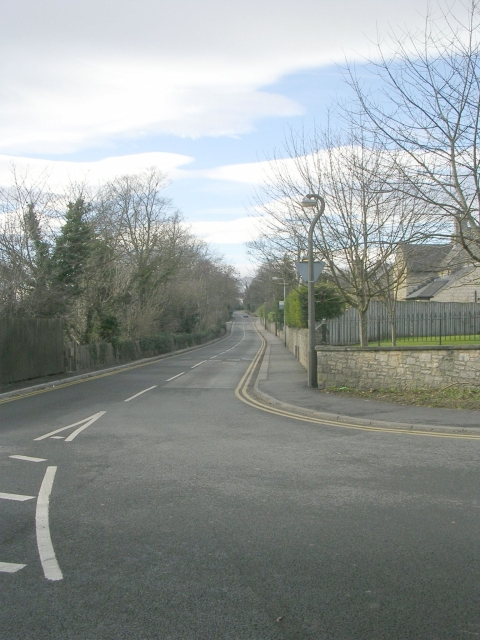 Linton Road - viewed from West Gate