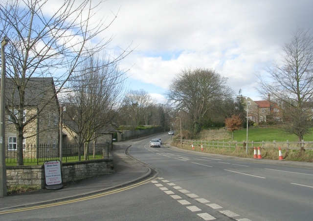 Spofforth Hill - viewed from West Gate