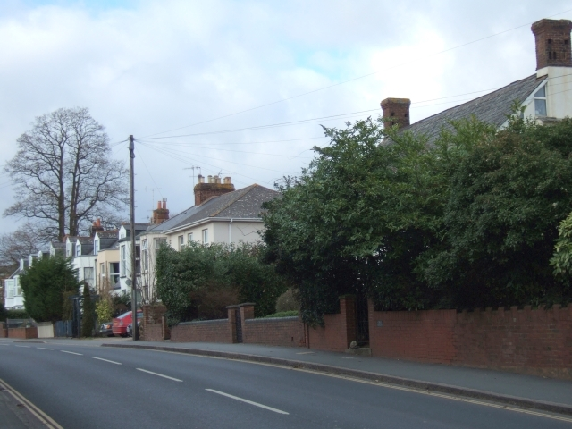 Houses in Topsham Road, Exeter
