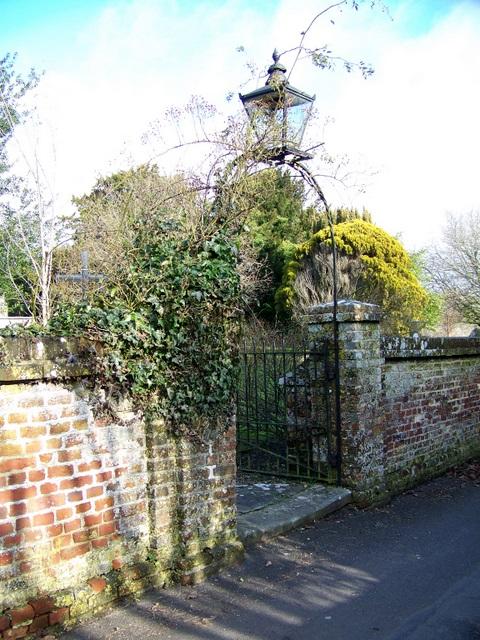 Gate, St Mary's Church