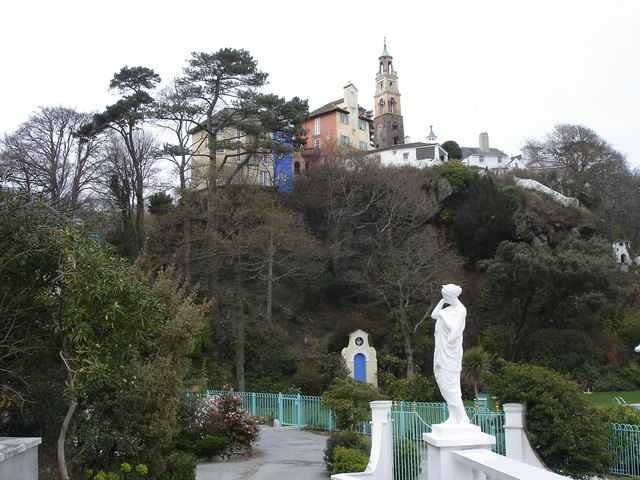 Portmeirion - from the Portmeirion Hotel