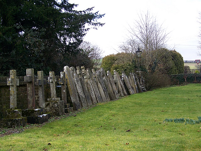 Crosses, St Mary's Church, Lower Blandford St Mary