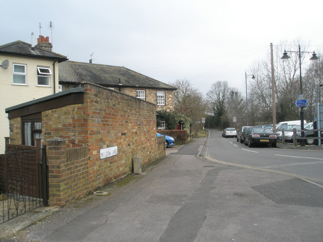 Eastern end of Meadow Lane