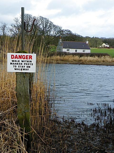 Intriguing Danger Sign