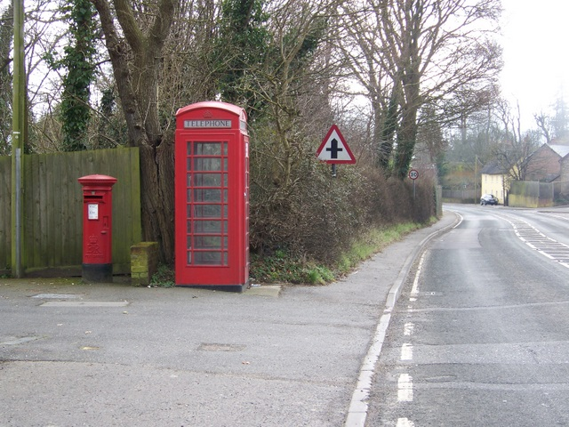 Telephone box, Charlton on the Hill